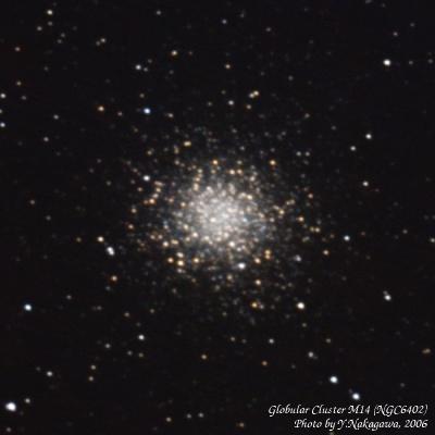 球状星団M14